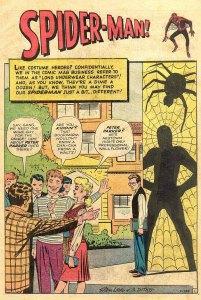 amazing fantasy 15 spiderman origin page 01