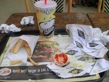 fat burger challenge