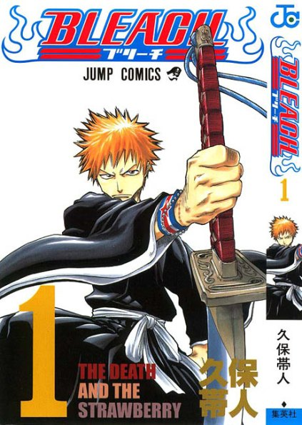 bleach volume 1 cover