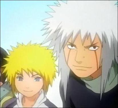 jiraiya and minato