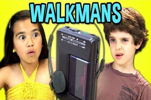 Kids-React-to-Walkmans