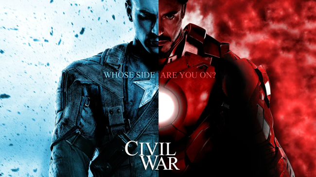 captain america iron man civil war